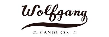 york candy. wolfgang candy logo york