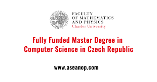 Fully Funded Master Degree In Computer Science In Czech