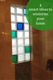 4 amazingly smart projects to winterize and add resale value to your home. Glass  Block ...