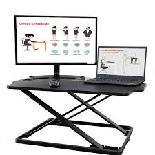 adjustable standing desk converter. Brilliant Converter AdvnUp 31 On Adjustable Standing Desk Converter T