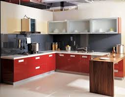 N Red Kitchen Cupboard Doors
