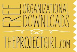 Free Downloads Free Organizational Downloads Jenallyson The Project Girl