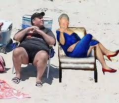 Chris Christie Beach Chair Memes - Stunning. | Facebook