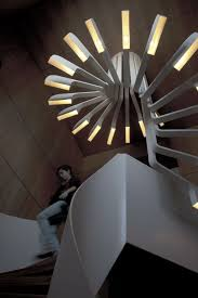 spiral staircase lighting. And Architect Bernard Khoury, Was Created For A House In Beirut, Lebanon. The Design Brings Light To Staircase Continues Spiral Upwards Lighting S