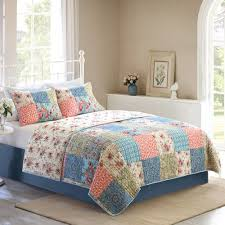 17 best bedding images on Pinterest | Bedrooms, Better homes and ... & Better Homes and Gardens Multi-Color Vintage Bedding Quilt, Full Size,  Multicolor Adamdwight.com