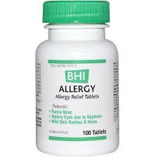 MediNatura, <b>BHI</b>, Allergy, 100 Tablets | Средства от аллергии ...