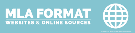 online format mla format websites and online sources the visual communication