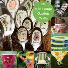 garden crafts. Celebrate With Garden Crafts Made Mod Podge!