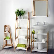 white bamboo bathroom range suite