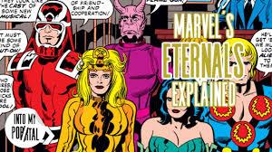 Marvel's The Eternals explained - YouTube