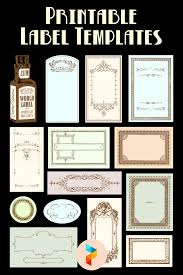 Printable formatted blank label templates. 9 Best Free Printable Label Templates Printablee Com