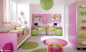 pink girls bedroom furniture 2016. Bedroom. Pink White Wooden Bed With Green Sheet Combined Table And Girls Bedroom Furniture 2016 .