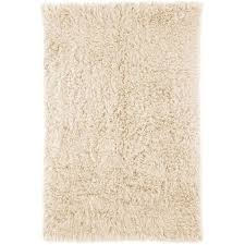 nuloom 2 x 3 hand woven genuine greek flokati rug in natural
