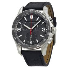victorinox watches swiss army watches watches online watch victorinox chrono classic slate grey dial black leather strap men s watch