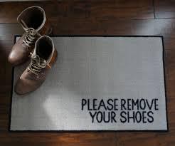 Doormat please remove shoes doormat images : 2' x 3' Remove Your Shoes Welcome Doormat - FloorMatShop.com ...