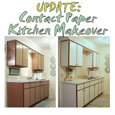 contact paper for furniture. Previous Kitchen Makeover With Contact Paper Before And After Rental Apartment Cabinets Drawers Cupboards The Decor For Furniture