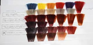 Copper Red Hair Color Chart Hot Red Hair Warm Copper Brunettes Back2myroots