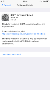 Quick Fix Can T Download Ios 11 Beta 3 Over The Air Ota On