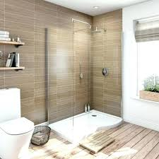enchanting walk bathroom. Enchanting Shower With Window Interior And Exterior Bathroom  Covering Stone Walk In R