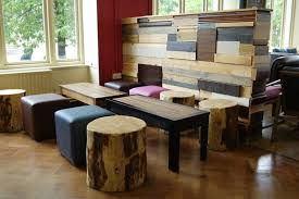 Working with contractor H.Peel we supplied this Coffee shop furniture  within the University of Manchester student union building.