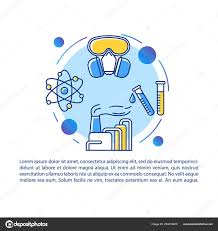 Chemistry Cover Page Designs Industrial Nuclear Chemistry Article Page Vector Template