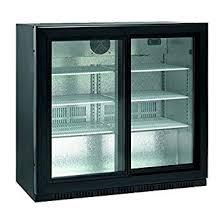 Scancool Sc 209 Sl 165 Litres Double Glass Door Back Bar