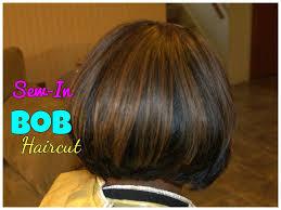 Swing Bob Hair Style bob haircut sewin weave tutorial youtube 1331 by stevesalt.us