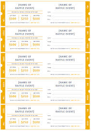 Raffle Ticket Templates | Make Your Own Raffle Tickets 1st Free Printable Raffle Ticket Template :