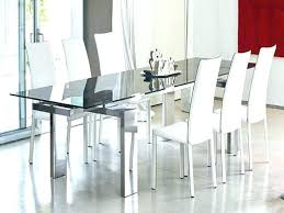 white glass dining table set sets full size of modern room all ikea malaysia si