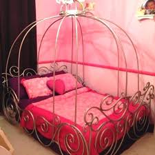 twin xl bed frame diy canopy art dreamy carriage designs for girls
