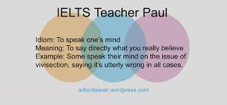 ielts writing vocabulary idioms for introductions to task  idiomspeakonesmind