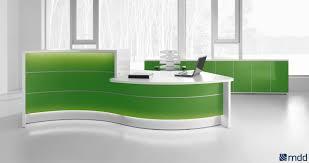 reception area furniture office furniture. reception desks sohomod com valde countertop curved desk high gloss lime by mdd office furniture ideas area