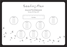 plan wedding reception wedding table seating plan template