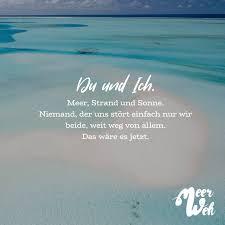 Du Und Ich Meer Strand Und Sonne Niemand Der Uns Stört Einfach