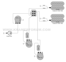 kramer wiring diagrams welcome to the kramer forum 1983 vanguard schaller humbuckers 3 way 1 vol