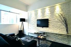 faux brick wall ideas interior elegant modern and classy interiors with fake