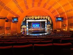 Radio City Music Hall Virtual Seating Chart Radio City Music Hall Section 2nd Mezzanine 5