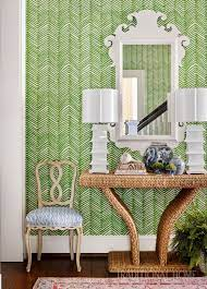 Quadrille Zig Zag Wallpaper Jungle ...