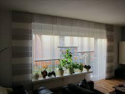 Gardinen Für Großes Fenster Mit Balkontür Großartig Und Fabelhaft
