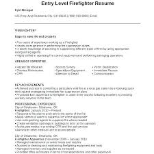 Firefighter Resume Template Simple Paramedic Resume Paramedic Resume Firefighter Resume Firefighter