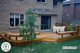 Backyard Deck Designs Plans Simple Decorating
