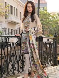 Suit Faisalfabrics Ittehad Shades Ids-3015 pk Piece Lawn Textile – Printed 3 Digital
