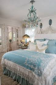 Soft Blue and White Shabby Chic Bedroom #Shabbychicdecor | Blue ...