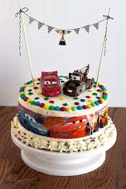 Cars Birthday Cake Easy To Make Kids Birthday Cake