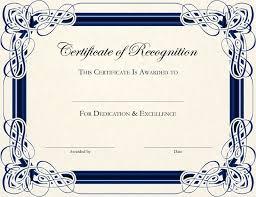 blank certificates free customizable certificate template free printable certificate