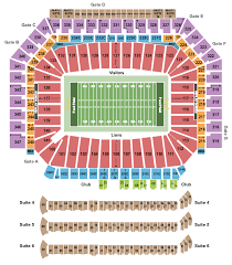 Ford Field Seating Chart Detroit