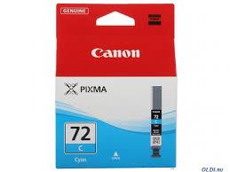 <b>Картридж Canon PGI-72C</b> голубой (cyan) 525 стр. — купить по ...