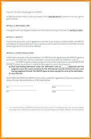 Contract Template Between Two Parties Examples Of Agreements Between