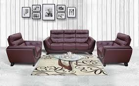 royaloak atlanta genuine leather sofa set