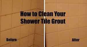 how to clean grout in shower with environmentally friendly treatments home and gardens